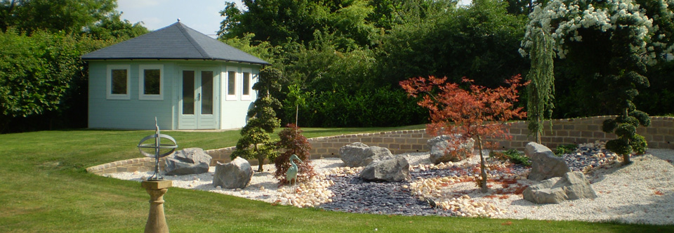 Garden design garden rooms garden studios hertfordshire for Garden design hertfordshire