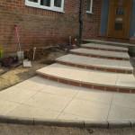 Front Garden Steps (after shot)